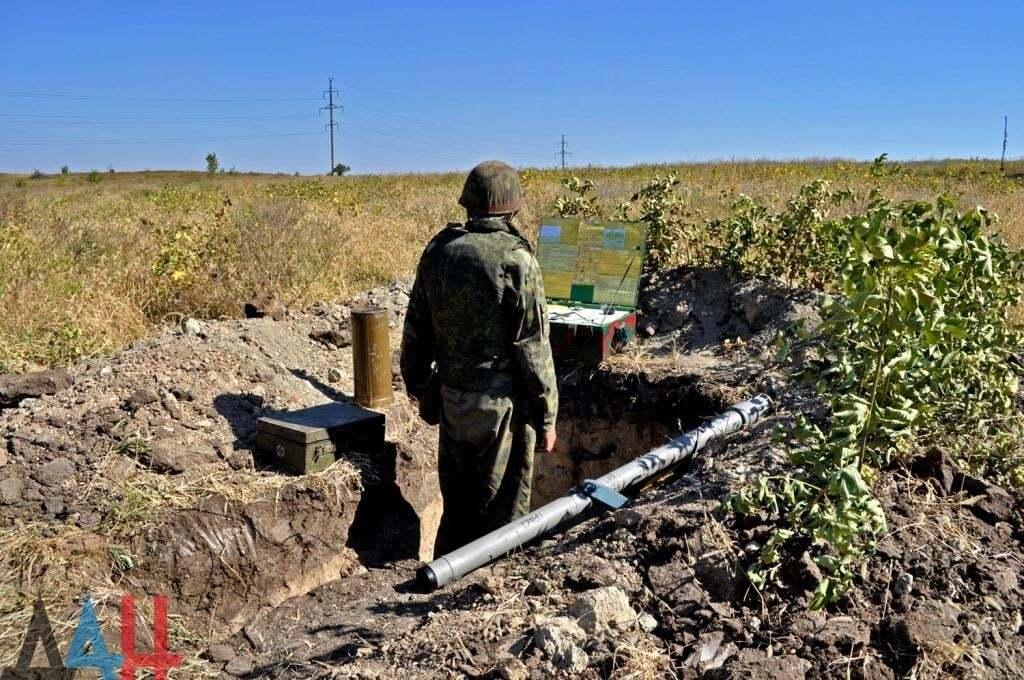 """Террористы """"засветили"""" свое вооружение: опубликованы фото"""