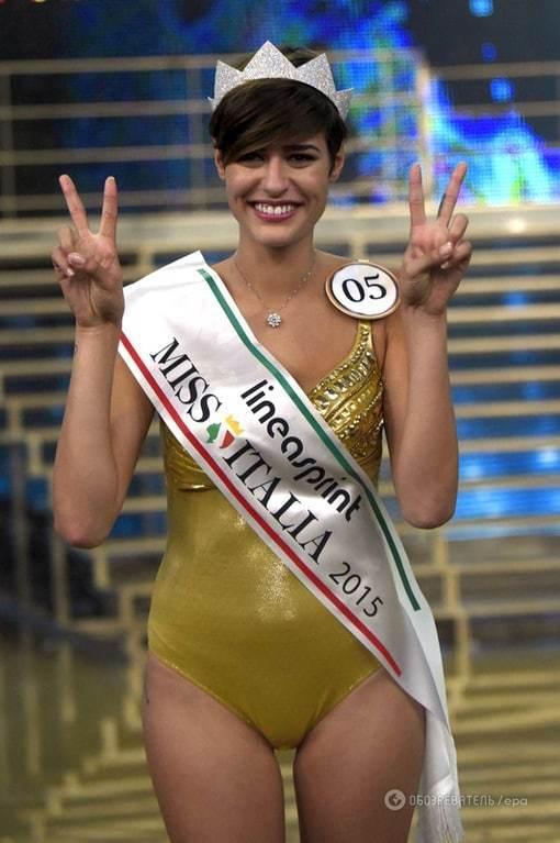 """""""Мисс Италия 2015"""" ошарашила заявлением о Второй мировой войне"""
