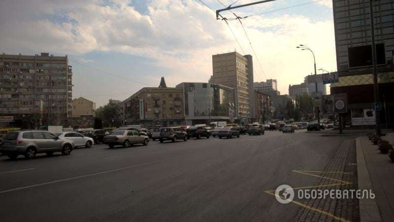 В центре Киева ремонт спровоцировал 6-километровую пробку