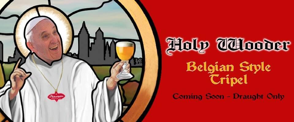 """В США выпустили """"спасительное"""" пиво с Папой Римским на обложке"""