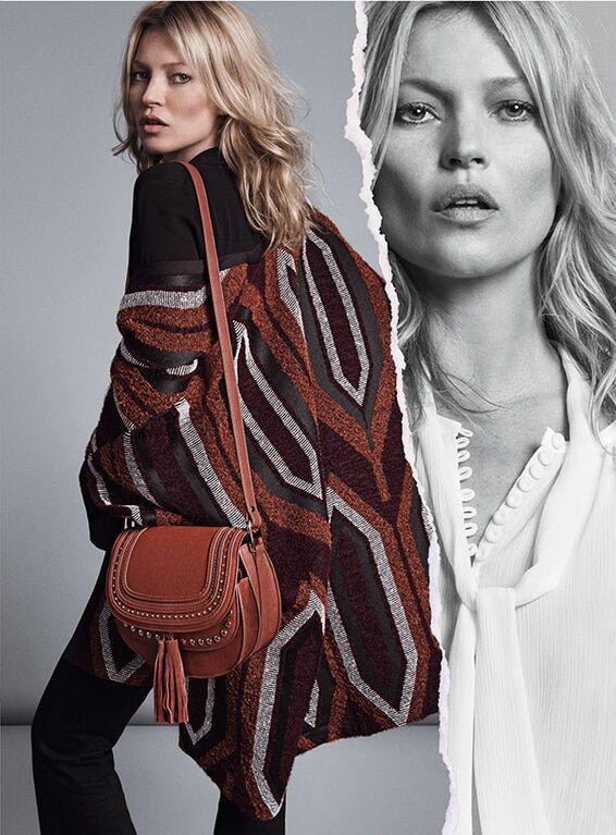 41-летняя Кейт Мосс шокировала постаревшим лицом на Неделе моды в Милане