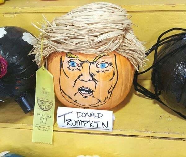 В соцсетях запустили флешмоб: преврати Дональда Трампа в тыкву