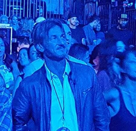 Шон Пенн пришёл на концерт экс-жены Мадонны впервые за тридцать лет