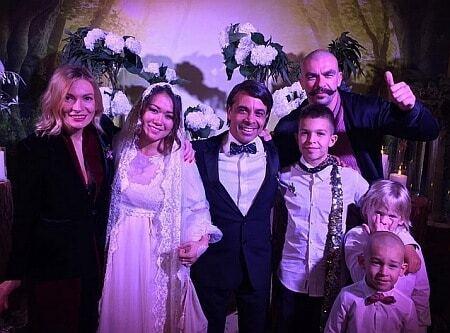 Арфуш и Петрова сыграли свадьбу в Киеве: ведущая Собчак и президентский сын среди гостей