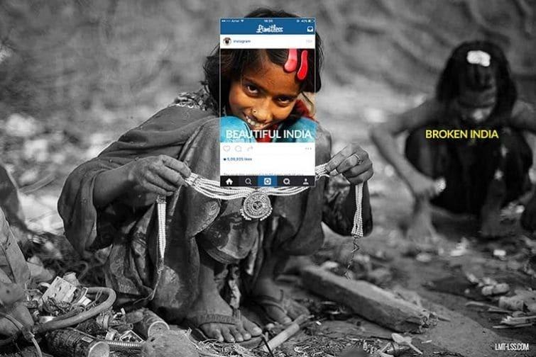 Фото не для всех: печальная реальность Индии, которая скрывается за яркой ширмой