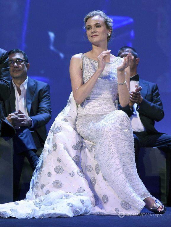 Торжество белого: топ лучших нарядов церемонии открытия Венецианского кинофестиваля