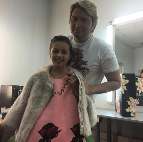 Басков изысканно поздравил дочь Волочковой с 10-летием