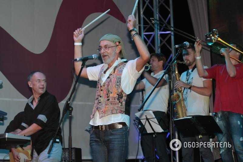 Пока мама пела в Москве, сын Ротару зажигал на байкерской тусовке