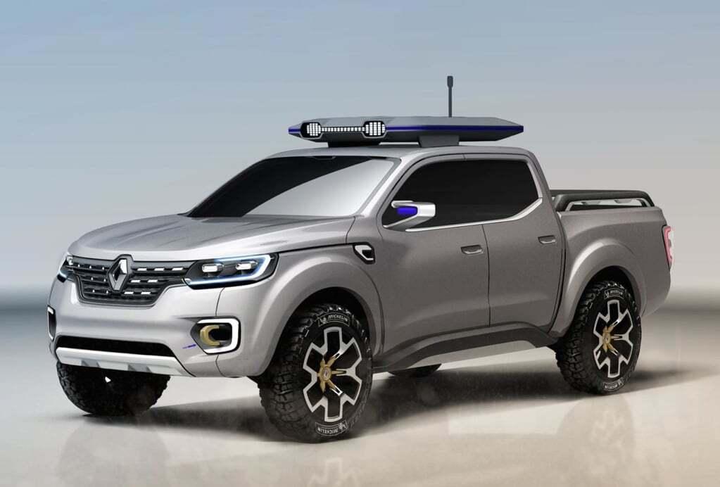 Renault показал концепт будущего пикапа