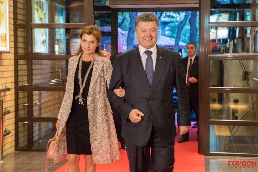 """Стильная чета Порошенко посетила 50-летие кинопремьеры """"Тени забытых предков"""""""