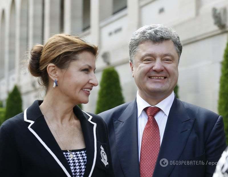 Петр и Марина Порошенко отмечают 31-летие брака: лучшие фото пары за последний год