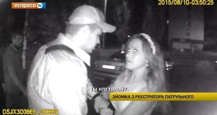 В Киеве полицейские задержали невесту на девичнике: видеофакт