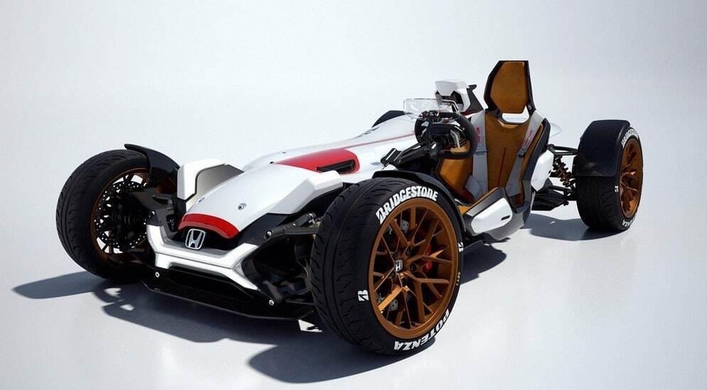 """""""И не автомобиль, и не мотоцикл"""". Honda презентовала гибрид"""
