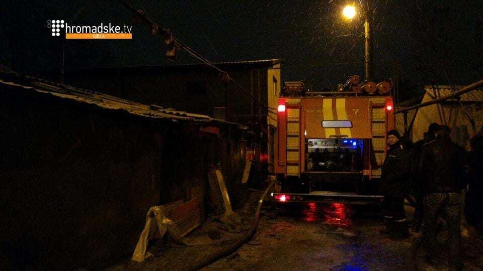 В Одесі через феєрверки згоріли три будинки