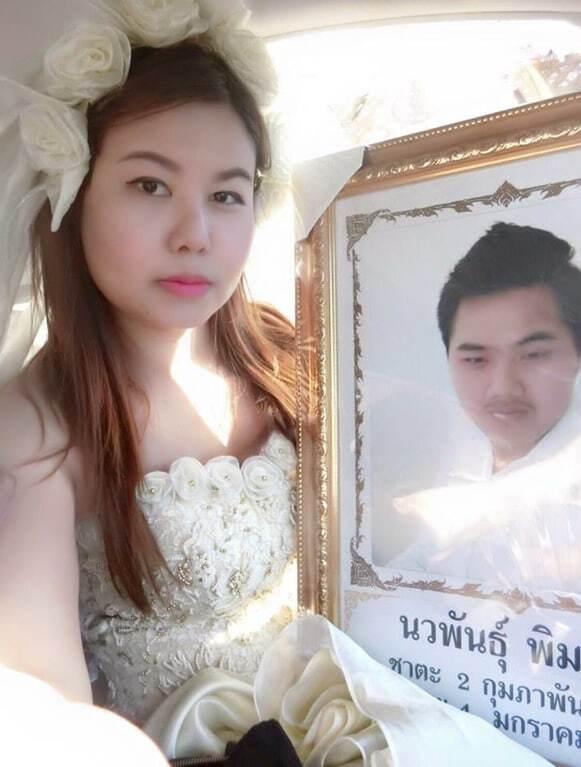 В Таиланде девушка шокировала свадьбой с мертвецом