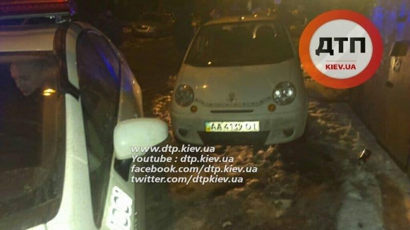Як у кіно: у Києві поліція влаштувала погоню за п'яним водієм