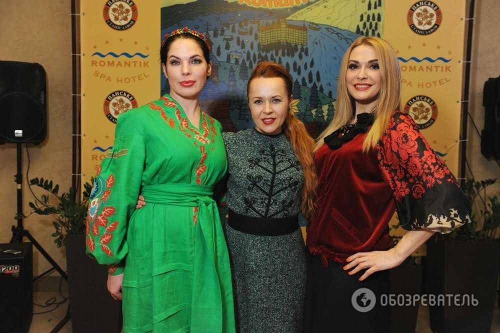 Яремчук, Сумская и Литовченко выгуляли национальные наряды в Яремче: яркие фото звезд