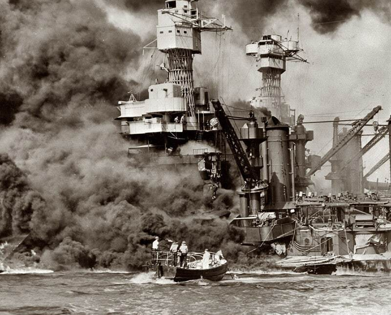 the historical events in the pearl harbor On december 7, 1941, japanese planes attacked the united states naval base at pearl harbor external, hawaii territory, killing more than 2,300 americansthe uss arizona was completely destroyed and the uss oklahoma capsized.