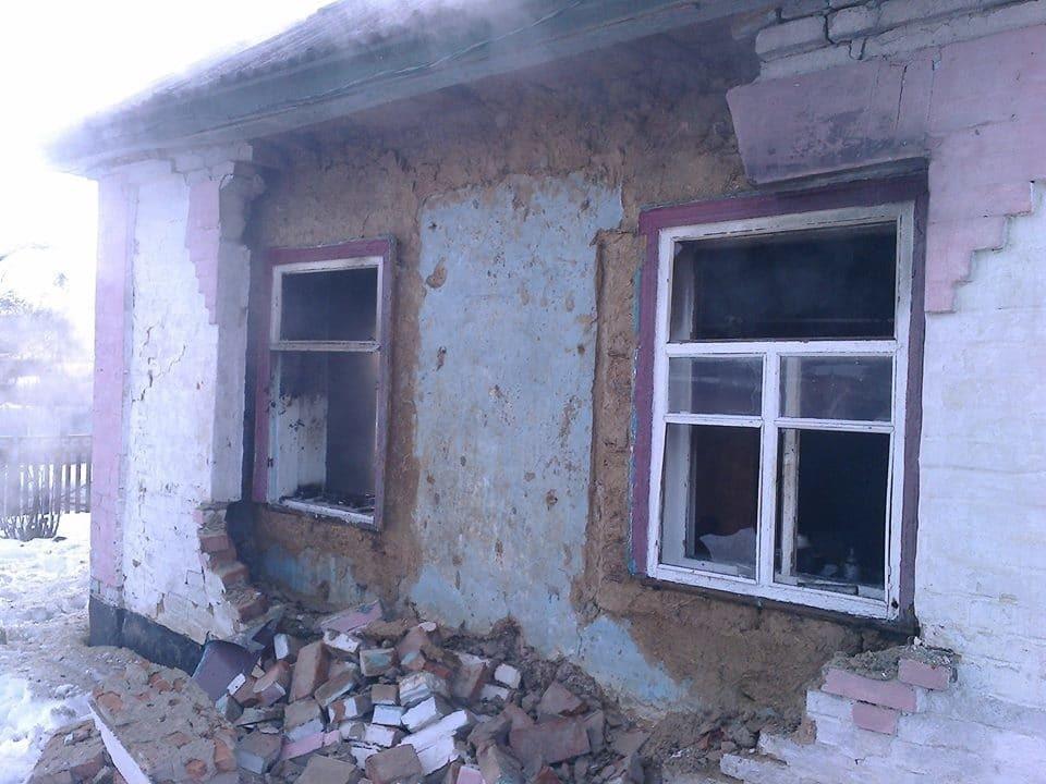 Взрыв дома на Черкасщине: есть пострадавшие