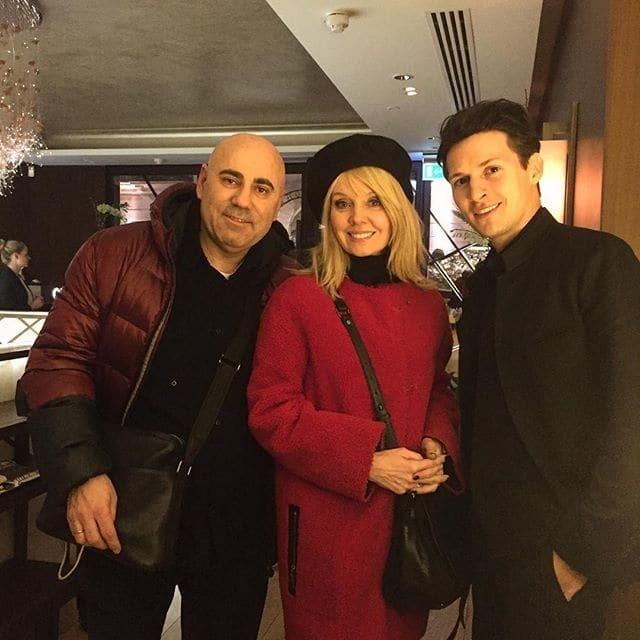 Посиделки в Лондоне: Валерия провела вечер в компании Павла Дурова