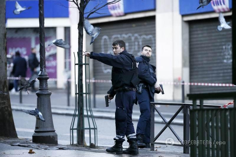 В Париже на годовщину теракта против Charlie Hebdo вновь неспокойно