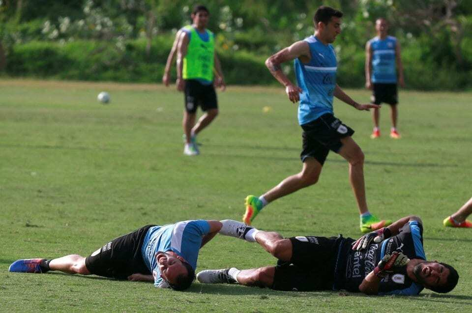 """Допрыгался: звезда """"Барселоны"""" получил нелепую травму на тренировке"""