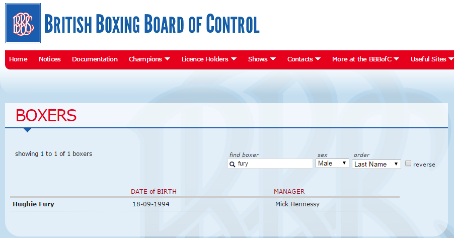 Тайсона Фьюри исключили из списка профессиональных боксеров