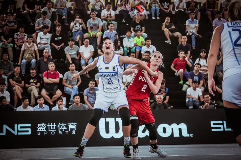 Украина одержала вторую победу на чемпионате мира по баскетболу 3х3