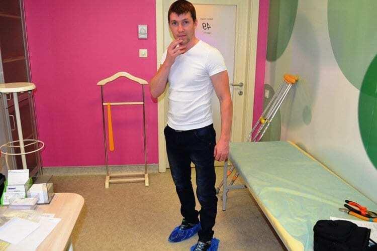 Українські лікарі-біотехнологи врятували від інвалідності бійця АТО