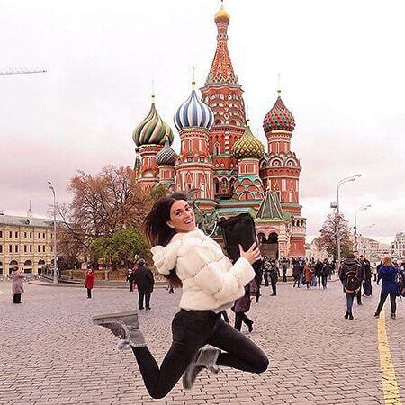 """""""Танцующий миллионер"""" Джанлука Вакки зажег с женой в Москве"""