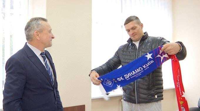 """Усик підтримає """"Динамо"""" на матчі з """"Бенфікою"""""""