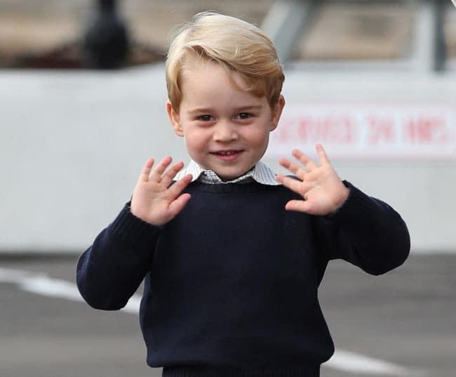Принц Джордж и принцесса Шарлотта трогательно попрощались с Канадой