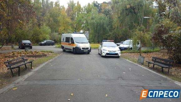 В киевском парке пенсионер совершил самоубийство