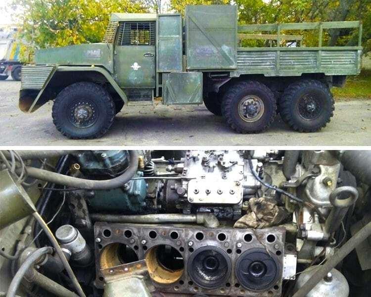 Волонтери передали на Донбас три військові автомобілі