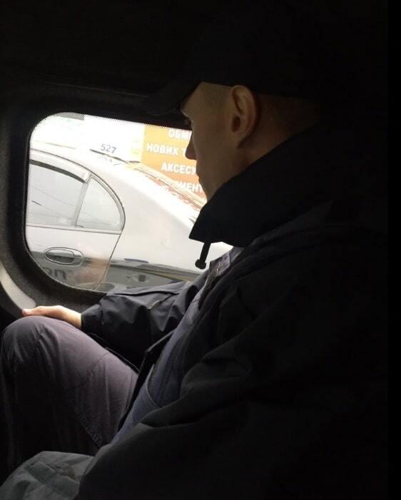 Деканоидзе проехалась по Киеву с полицейским патрулем