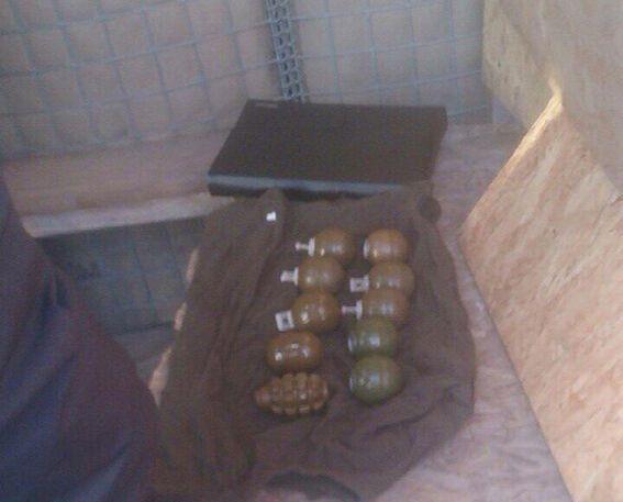 На Днепропетровщине две девушки попытались вывезти 18 гранат из зоны АТО