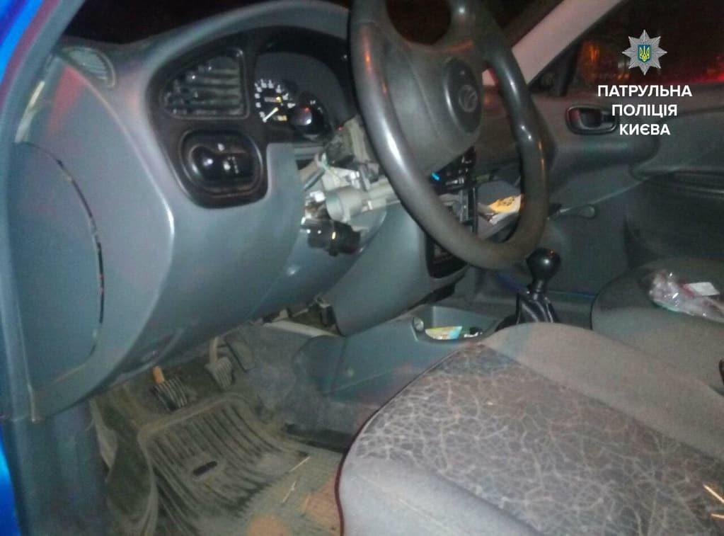 В Киеве копы задержали автоугонщика