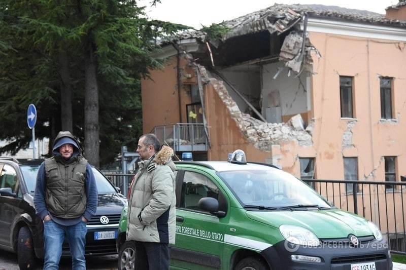 Землетрясение в Италии: повреждены дома трех тысяч человек