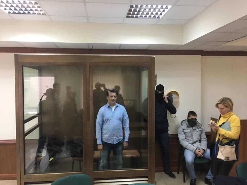 Российский суд оставил Сущенко под арестом: Украина выразила протест