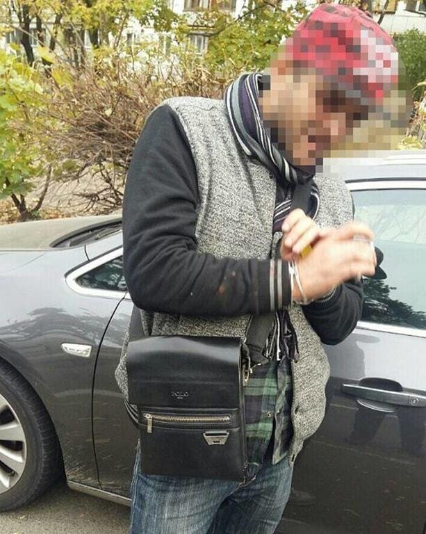 В Киеве задержали автовора-сканерщика