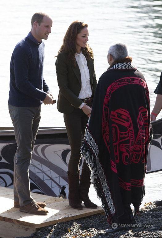 Семейный выезд: лучшие фото визита Кейт Миддлтон и принца Уильяма с детьми в Канаду