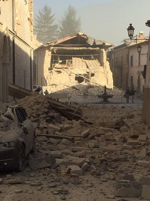 Всією Італією прокотився потужний землетрус