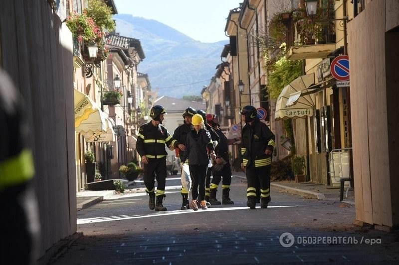 Десятки поранених і зруйновані святині: фоторепортаж із постраждалого регіону Італії
