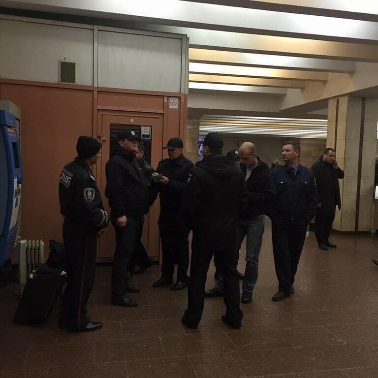Стрельба в киевском метро: в полиции сообщили подробности