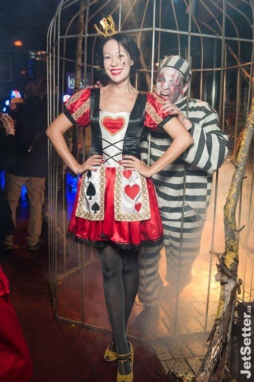 Узнай звезду: в кого превратились украинские знаменитости на Хэллоуин 2016
