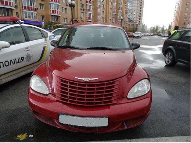 Обчистил элитный Chrysler: в Киеве задержали вора с барсеткой