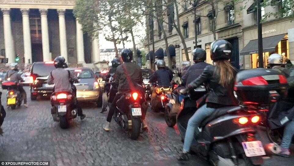 Перед пограбуванням в Парижі Кім Кардашян переслідувала невідома машина
