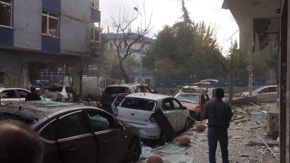 В Стамбуле прогремел мощный взрыв возле полицейского участка