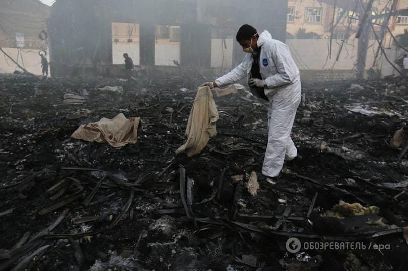В Йемене нанесен удар по траурной церемонии: погибло 140 человек