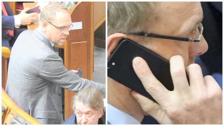 """Нардеп от """"Батькiвщини"""" похвастался первым iPhone 7 в Раде"""